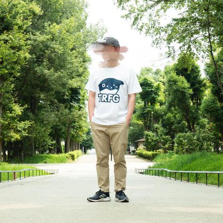 TRFG ロゴTシャツ  ホワイト