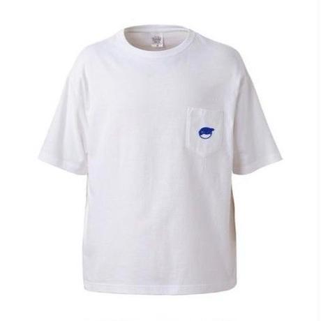 ビッグシルエットTシャツ 胸ポケット付