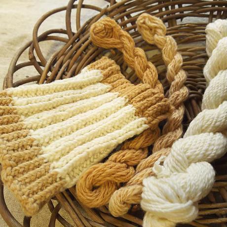 綿の簡易手紡ぎキット 自家栽培和綿の篠10g付