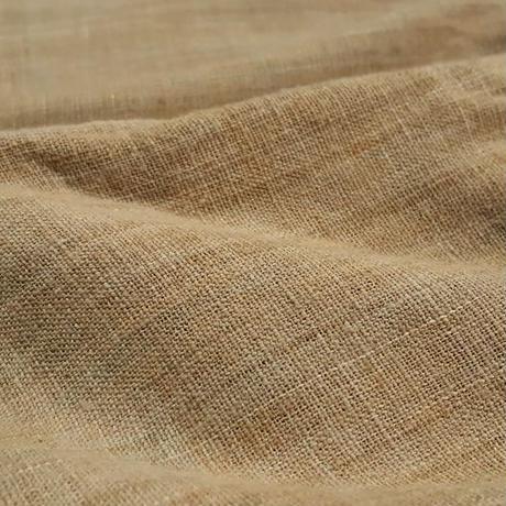 自家栽培綿 無染色 手紡ぎ手織り布 濃カーキ(別サイトへ)