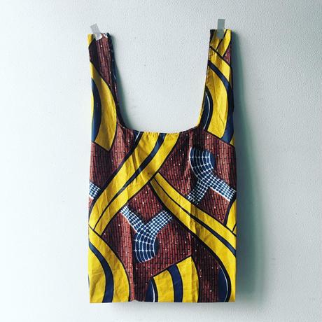 アフリカンプリントショッピングバッグ・1