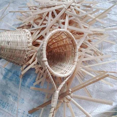 竹の茶こし(ネパール)