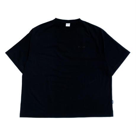 Classic Logo Tee - Original Fit 7oz - BLACK