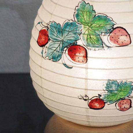 『いちご&strawberry』あいか【ベリーライト】インテリア提灯