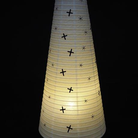 星と十字架【cocolan】インテリア提灯