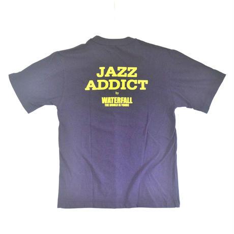 「JACO PASTORIUS」ver.8ジャズTシャツ(写真家・内山繁氏コラボ) WATERFALL  S/ M/ L / LL