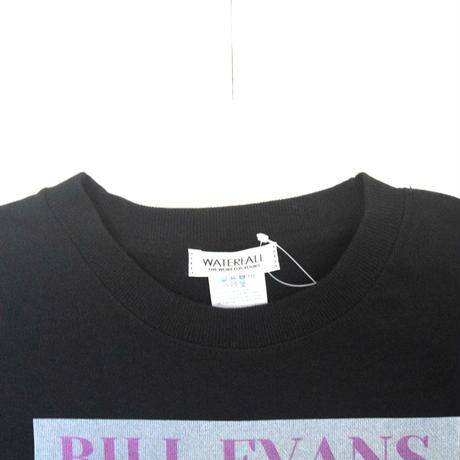「BILL EVANS」ブラック ジャズスウェット(写真家・内山繁氏撮) WATERFALL S/ M/ L/ XL