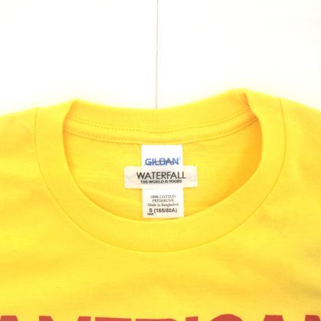 「猫ベース」レコードワッペン猫ツアーTシャツ 2021SS新色 デイジー S/M/L WATERFALL限定商品