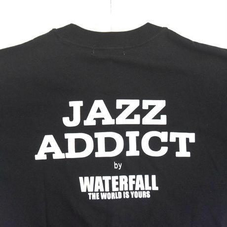 「JACO PASTORIUS」ver.7ジャズTシャツ(写真家・内山繁氏コラボ) WATERFALL  S/ M/ L / LL