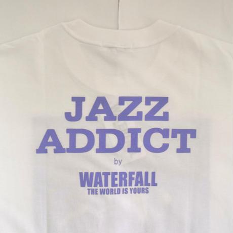 「JACO PASTORIUS」ver.6ジャズTシャツ(写真家・内山繁氏コラボ) WATERFALL  S/ M/ L / LL