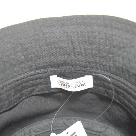 「レコードワッペンバケットハット」 ブラック 60cm 2021SS新作 WATERFALL ユニセックス