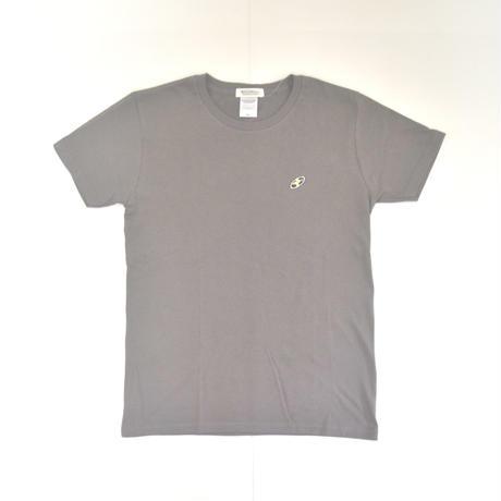 「 レコードワッペンワンポイントTシャツ(※レディース)」 チャコール WATERFALL WM / WL