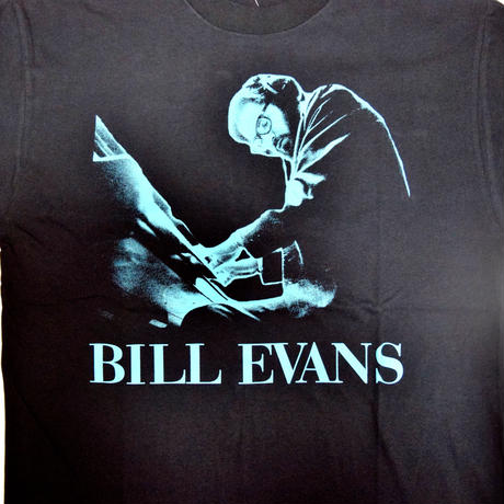 「BILL EVANS」ver.3ジャズTシャツ(写真家・内山繁氏コラボ) WATERFALL  S/ M/ L