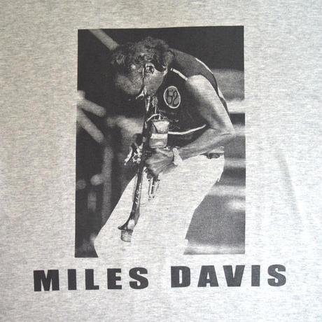 「MILES DAVIS」ver.8 ジャズTシャツ(写真家・内山繁氏コラボ) WATERFALL  S/ M/ L