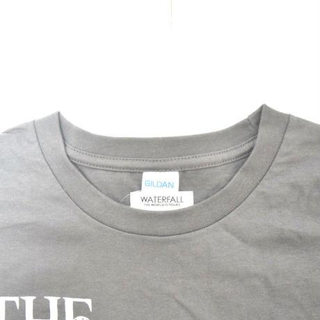 「猫バンド」レコードワッペン猫ツアーTシャツ 2021SS新色 チャコール S/M/L WATERFALL限定品