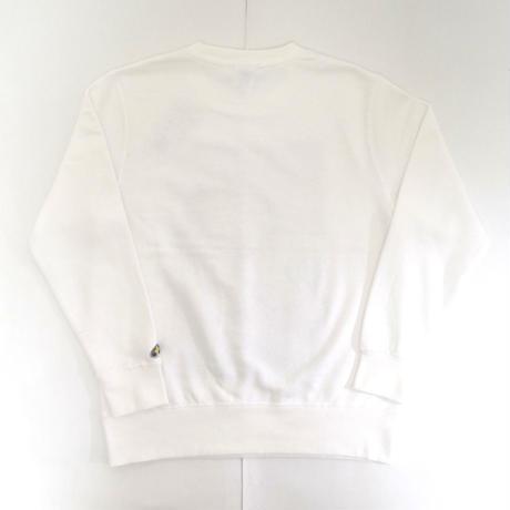 「BILL EVANS」ホワイト ジャズスウェット(写真家・内山繁氏撮) WATERFALL S/ M/ L/ XL