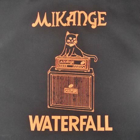 「猫アンプ」猫ツアートートバック レコードバッグ  ブラック F  WATERFALLオリジナル限定商品