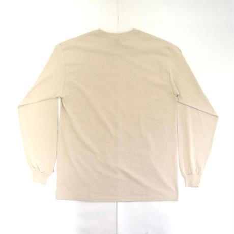 「シャンシャンバイオリン」パンダツアー長袖Tシャツ  ベージュ S/M/L WATERFALLオリジナル商品