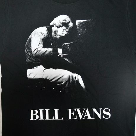 「BILL EVANS」ver.2ジャズTシャツ(写真家・内山繁氏コラボ) WATERFALL  S/ M/ L