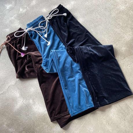 Velour Pants with OBI String