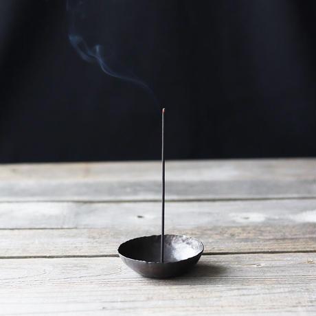 ころりとした錫のお香立て [ 香鉢 ]