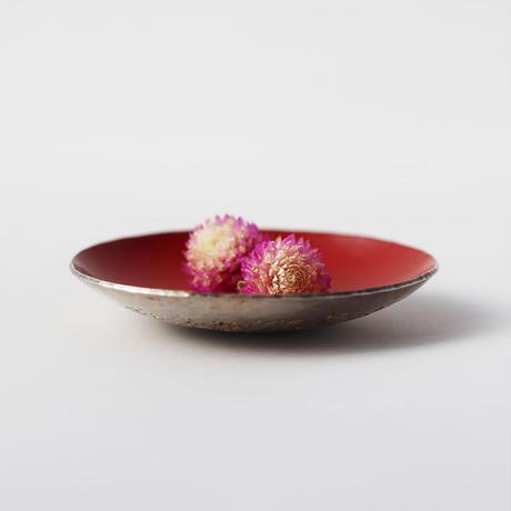 漆豆皿(黄口)