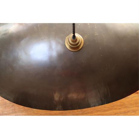 真鍮のオーバルシェードランプ E26