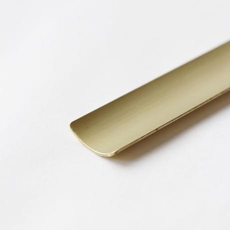 錫のお香立てと真鍮受皿 [ しずく ]