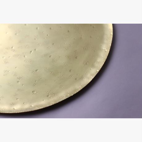 満月盆 十寸  [  月世界   ]