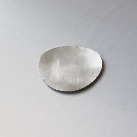 Stone S ふぞろいの小皿 [ 錫銀 ]