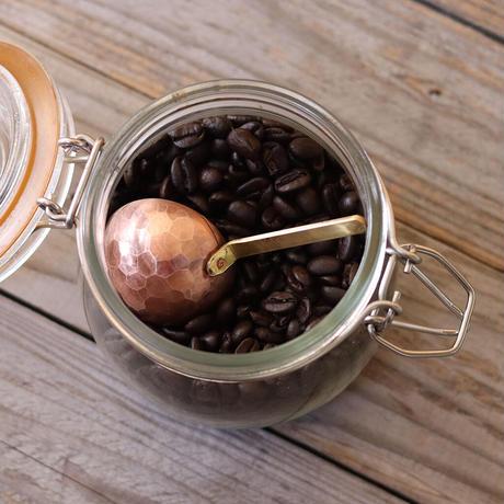 鎚目模様のコーヒーメジャー
