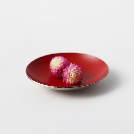 漆豆皿(朱)
