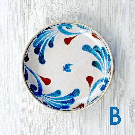 BrushBlue / Pastabowl / Mino ware