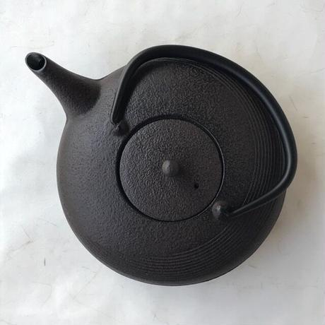 【Shipping free!!】Iron Teapot_Moon(Japanese tetsubin) / Nambu Ironware