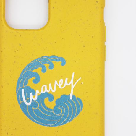 """This is Wavey"" logo eco phone case -Banana-"