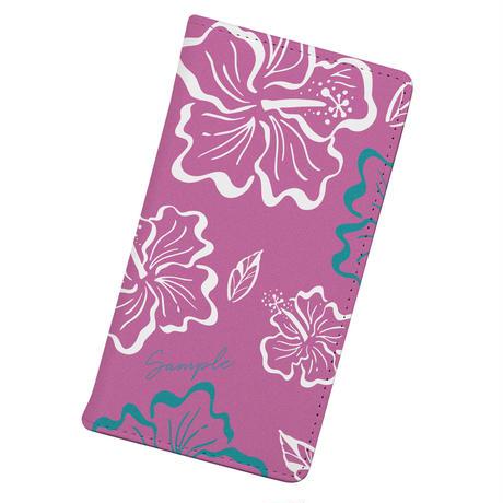 [Custom] Vintagey PUA ALOALO -ʻĀkala-  Wallet type iPhone case (手帳型)