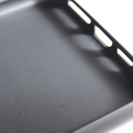 """""""This is Wavey"""" logo eco phone case -Charcoal-"""