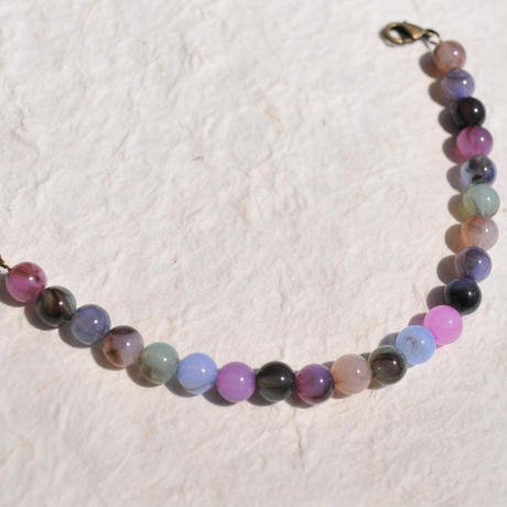 【男性羽織紐】天然石調色とりどり羽織紐