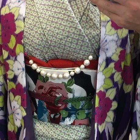 コットンパールの羽織紐(太)