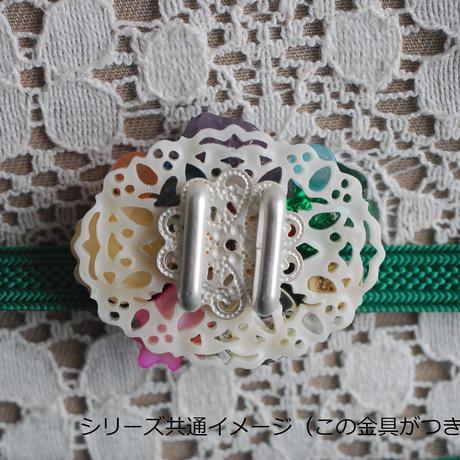 おもちゃ箱みたいなぽっちり帯留め(3)