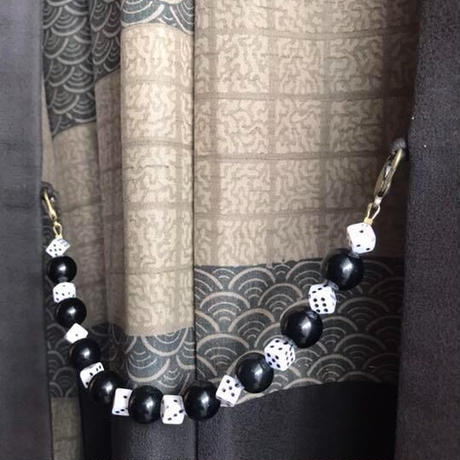 サイコロの男性用羽織紐