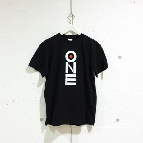 ONE-Tシャツ(black/ベーシック)