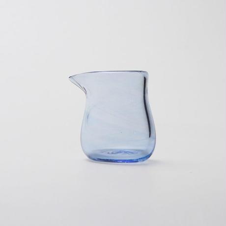 吹きガラス ミルクピッチャー