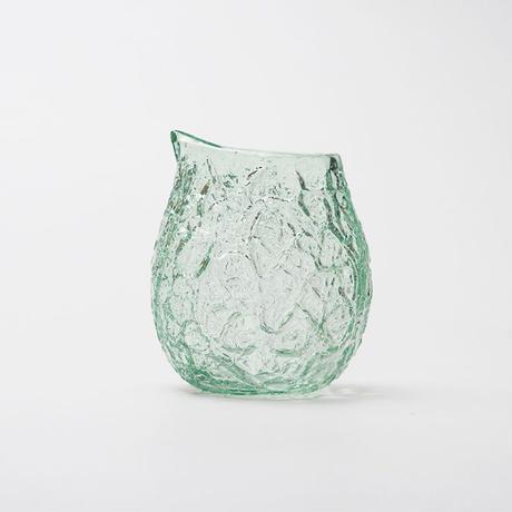 吹きガラス アイスカット酒器