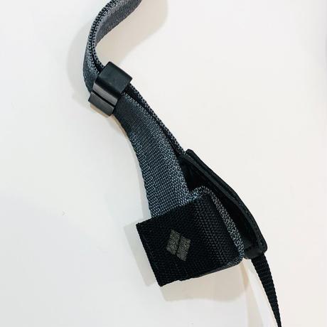 diagnl*Ninja Strap*Charcoal 25mm