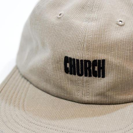 CHURCH BARBER*LOGO CAP*KHAKI