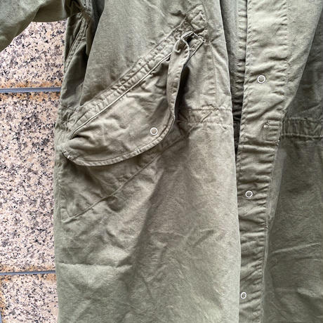 US ARMY*SNOW CAMO PARKA*Dyed & Bleech