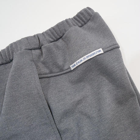YOUNG&OLSEN DRYGOODS STORE*FRENCH JERSEY TROUSER*GREY