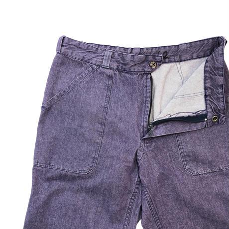 French Military*Vintage Denim Deck Pants