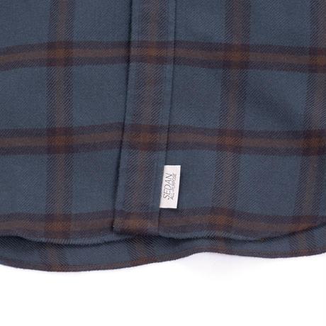 SEDAN ALL-PURPOSE*Plaid Flannel Big BD Shirts*Green Plaid